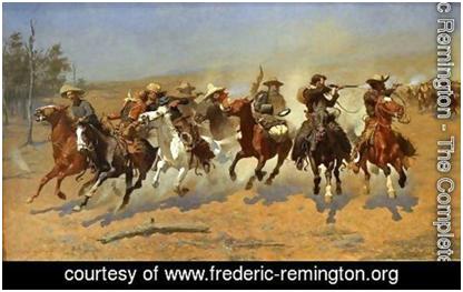 frederic remington paintings