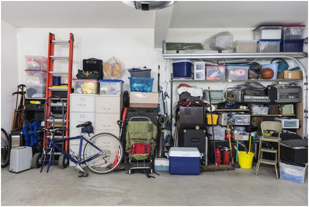declutter garage